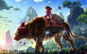 Wallpaper: amazing tiger wallpaper