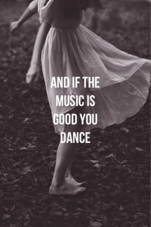 HAPPY MONDAY | And if the Music is Good.. You Dance !