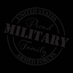 Military Family Car Sticker Wall Quotes™ Decal