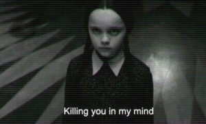 ... black&white #grunge #movie #quotes #wednesday #killingyou #mercredi