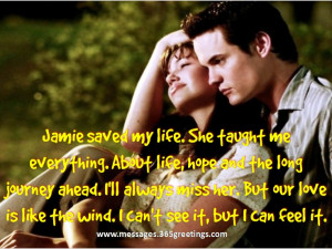 Love this movie - A Walk To Remember. :)