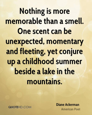Diane Ackerman Nature Quotes