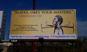 Disagreement With Passages In The Bible On Slavery And Genocide
