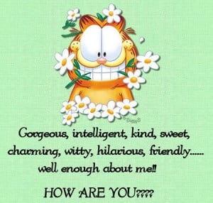 Garfield Quotes On Love Funny Garfield Quotes Garfield