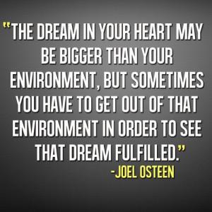 Joel Osteen.- thx Joel ...true