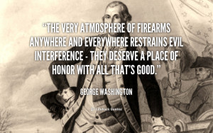 George Washington Gun Quotes