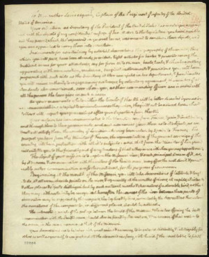 Thomas Jefferson to Meriwether Lewis, June 20, 1803. Manuscript letter ...