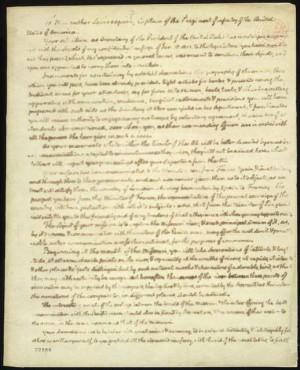 Thomas Jefferson to Meriwether Lewis, June 20, 1803. Manuscript letter ...