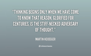 Martin Heidegger Quotes