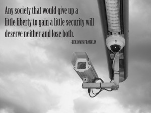 Any society that would give up a little liberty to gain a little ...