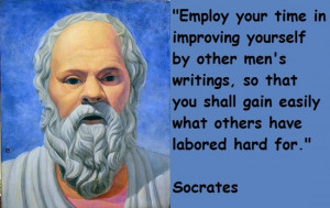 Socrates famous quotes about improving yourself