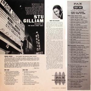 Stu Gilliam - The Wild Wicked Humor Of Stu Gilliam 1967