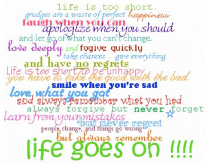 life sayings
