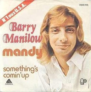 Barry Manilow's Mandy album cover