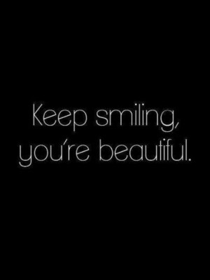 Keep Smiling Quote Happy