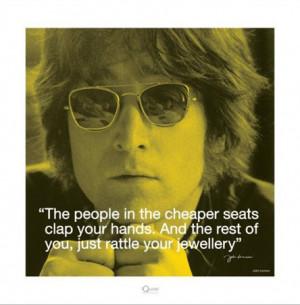 Clap your Hands - John Lennon Quote