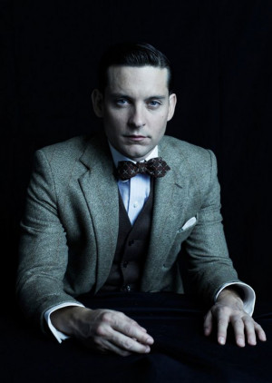 Maguire is Nick Carraway in Baz Luhrman's Great GatsbyThe Great Gatsby ...