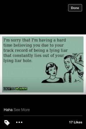 Hate liars!!!