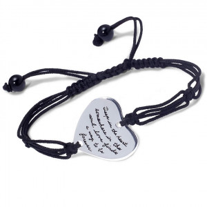 love finds a way silver quote bracelet bb becker jewelry