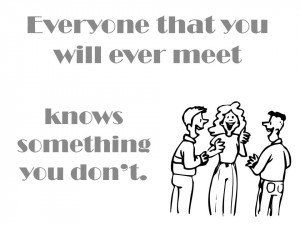 You are told that you should network with more people for any number ...