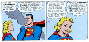 Comic Book Love Quotes From action comics #252.