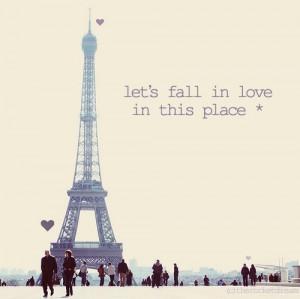cute, eiffel tower, love, paris, quote, text