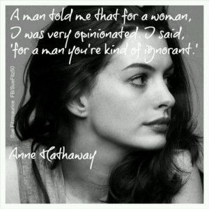 funny anne hathaway quotes