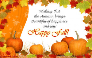 ... the Autumn brings Bountiful of happiness and joy! Happy Fall Graphics