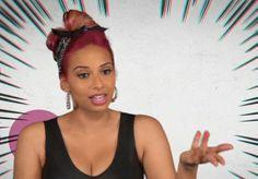 Nessa Nitty #Hair #Makeup #Girlcode #Hats #Haircolor