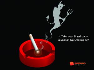 Good Smoking Quotes So quit no smoking day