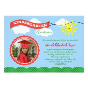 kindergarten_graduation_photo_invitation ...