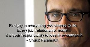 chuck palahniuk quotes - Google Search