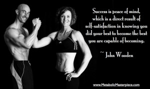 Fantastic success quote from John Wooden... Definitely applies to the ...