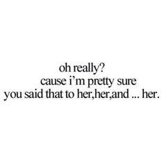 More than one girl #unloyal More