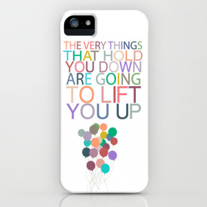 lift you up.. dumbo inspirational quote iPhone & iPod Case