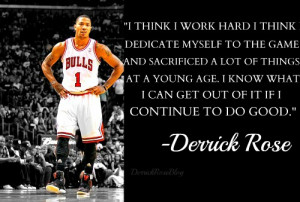 Derrick Rose Quotes
