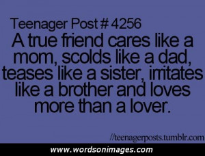 Teen Quotes About Friendship