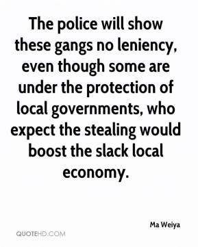 Ma Weiya - The police will show these gangs no leniency, even though ...