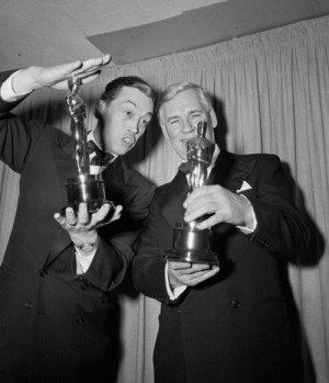 pablolf:John Huston and Walter Huston posed together after winning for ...
