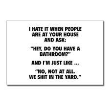 Sarcastic Sayings Postcards
