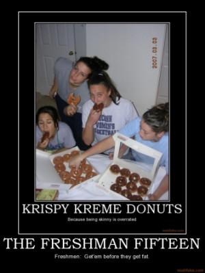 the-freshman-fifteen-krispy-kreme-freshmen-freshman-donuts-f ...