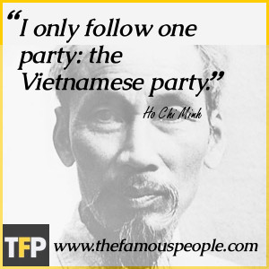 Ho Chi Minh Quotes Vietnam War