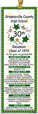 Class Reunion Favors
