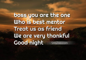 dear boss you always help