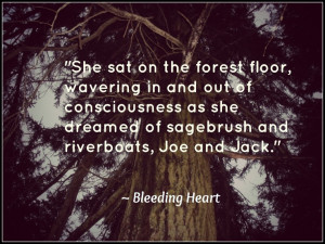 From Part 1 of Bleeding Heart (Picture taken on the nature trail at ...