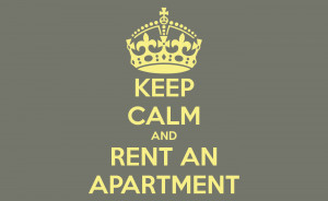 Keep Calm and Apartment