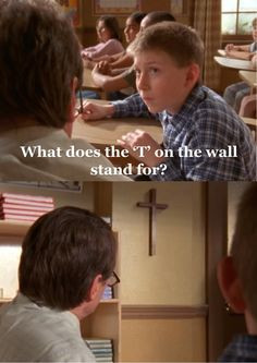 Malcolm in the middle! More