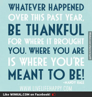 Inspirational Quotes About Being Thankful