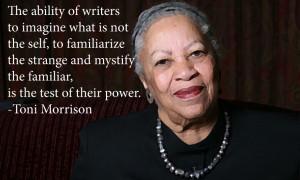 More Toni Morrison Quotes