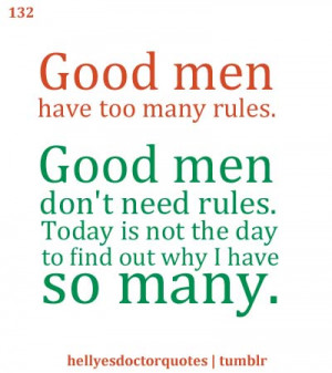 06x07: A Good Man Goes to War